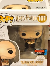 Funko Pop - Harry Potter Filch and Mrs Noris Vaughan, L6A