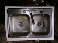 Stainless steel double basin sink Richmond, 60071