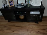 brown wooden sideboard with mirror New York, 10025