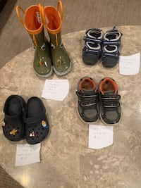 Kids shoes and rainboots for sale Vaughan, L4J 4V9