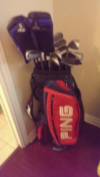 Ping G2's and tour golf bag