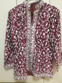 Full embroidery silk coat Toronto, M1T 1G6