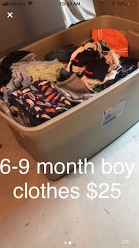 6-9 month clothes