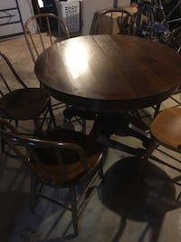 JK Rishel antique dining table and chairs Wellsville, 17365