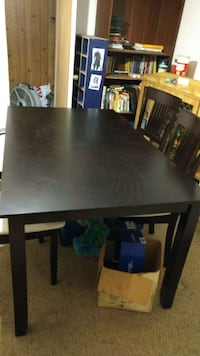 Dining set from the brick