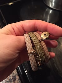 Marc by Marc jacobs three assorted colors of bracelets