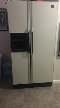 white side-by-side refrigerator with dispenser Las Vegas, 89109