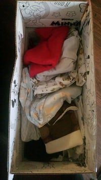 Free red bathroom rugs, crib sheets, pillow cases