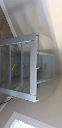 gray metal framed glass panel South Bend, 46614