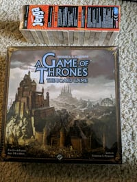 Game of Thrones and Jenga Brand New San Diego, 92128