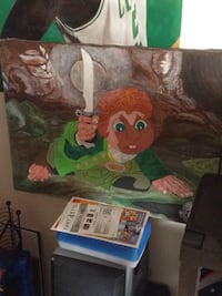 Hobbit painting one of a kind 1 of 1 Manchester, 03104
