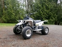 white and black Yamaha ATV Port Orchard, 98367
