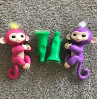 Fingerling interactive monkeys  New Cumberland, 17070