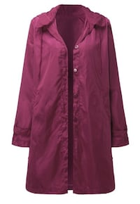 Woman's waterproof windbreaker jacket