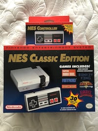NES CLASSIC CONSOLE WITH EXTRA CONTROLLER Mississauga, L5J 4B7