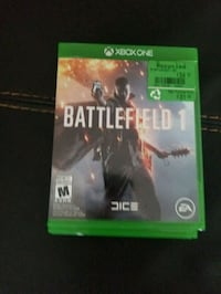 Battlefield 1 Xbox One game Edmonton, T5P 4A7