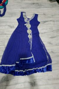 women's blue sleeveless dress Surrey, V3W 0N3