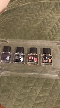four assorted color of nail polish bottles Vaughan, L4L 6X1