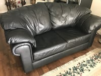 Leather Love Seat RICHMOND