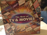 The Best Of TV And Movies Game -- 1500+ Questions 200+ Hit Shows And Movies -- New Sealed in Box -- a unopened. Comes from smoke free home. Cash only please. Schaumburg, 60193