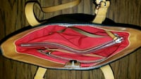 red and blue leather bag Monroe