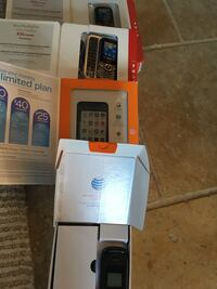 Burner Phones. $20.00 each. Brand new, chargers included. (2)ATT  (2)Verizion