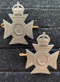 Brockville Rifles Cap Badges (Canadian WW2 Era) Toronto, M4V 2C1