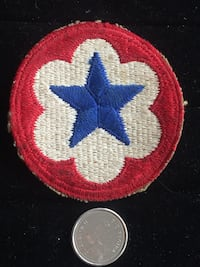 American WW2 Army Service Forces Badge Toronto, M4V 2C1