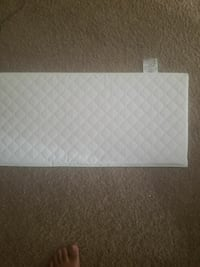 quilted white cover 2056 mi