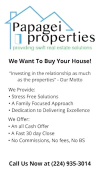 We Want To Buy Your House! Chicago, 60659