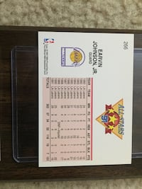 Magic Johnson Card and Card Holder  Alexandria, 22314