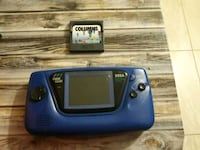 EUC VTG 90's Rare Sega Game Gear Blue Variant w Co Warren