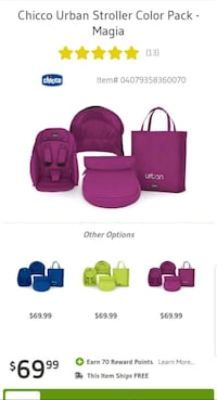 Chicco Urban Stroller Color Pack - Magia   South Gate