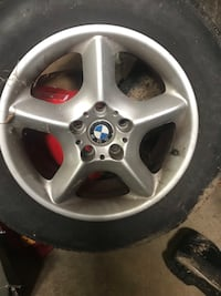 2003 BMW X5 Rims set of 4 and a spare Silver Spring, 20904