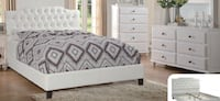 Queen  bed   Cama new leather Miami, 33133