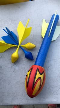 two blue and yellow butterfly decors Port Coquitlam, V3B 1E5