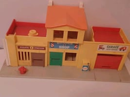 Vintage Fisher Price Town