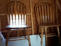 two brown wooden windsor chairs Ellicott City, 21042