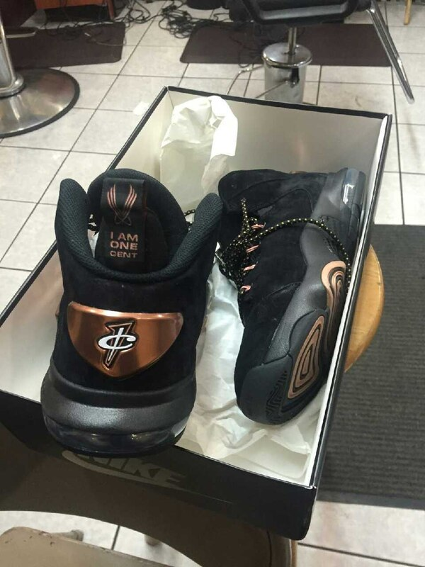 67cd8a56302 Used I AM ONE CENT Nike Zoom Penny VI for sale in New York - letgo