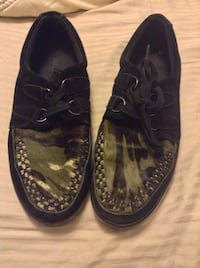 Black and green dress shoes Mississauga, L5W 1K5