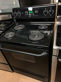 GE black electric coil range stove  Woodbridge, 22191