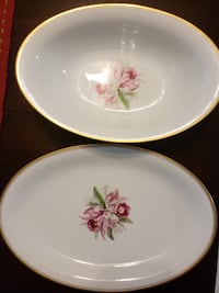 Noritake Gold-Rimmed China,  [TL_HIDDEN]  pieces Frostproof