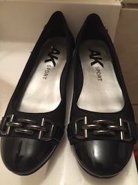 pair of black leather flats Silver Spring, 20901
