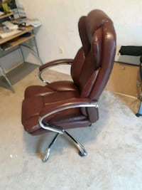 brown leather office rolling armchair Bladensburg, 20710
