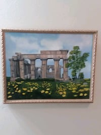Framed Oil painting canvas  Ankeny
