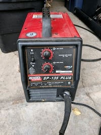 Lincoln electric wire fed mig welder 2281 mi