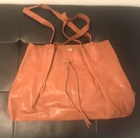 Brown Leather Tote Toronto, M4R 1G7