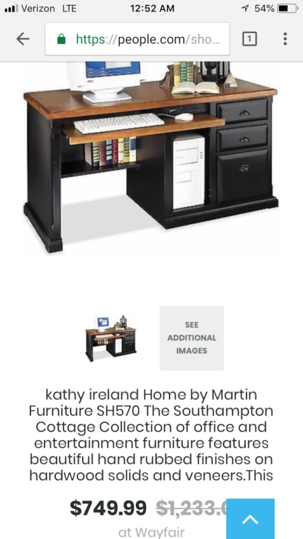 classic computer desk with return package a single pedestal file