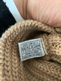 Uggs - knitted, used, but good condition. Size 7