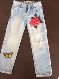 Zara girl jeans, for 4 years old Burnaby, V5H 2V6